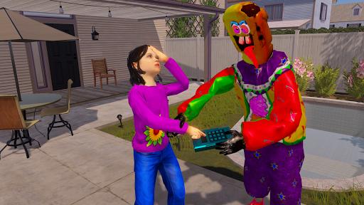 Crazy Ice Scream Clown:Freaky Clown Horor Neighbor  screenshots 6