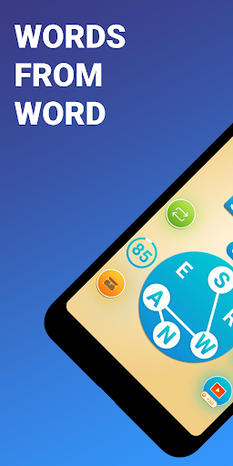 Words from word: Crosswords. Find words. Puzzle 3.0.57 screenshots 1