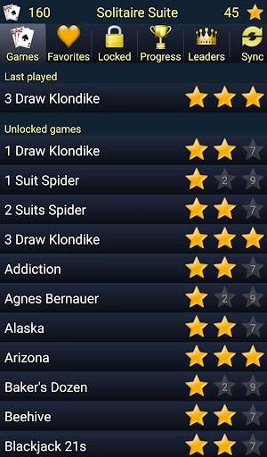 150+ Card Games Solitaire Pack 5.18.2 screenshots 1
