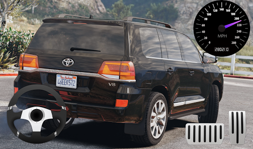 City SUV Toyota Land Cruiser 200 Parking 11.1 screenshots 2