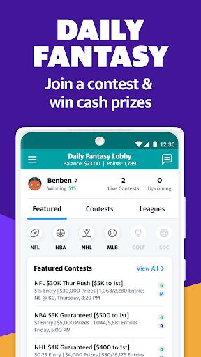 Yahoo Fantasy Sports: Football, Daily Games & More android2mod screenshots 4
