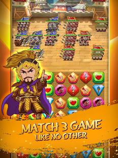 Match 3 Kingdoms: Epic Puzzle War Strategy Game