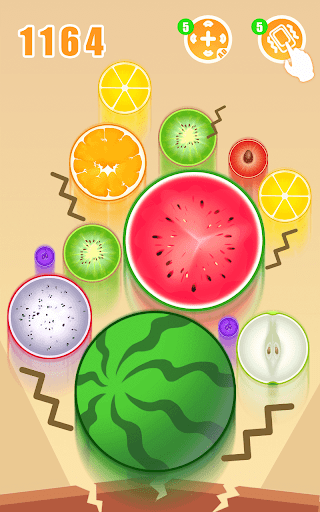 Fruit Crush - Merge Watermelon  screenshots 6
