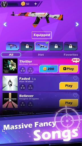 Beat Shooter - Gunshots Rhythm Game 1.2.6 screenshots 1