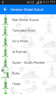 Tuntunan Shalat Screenshot