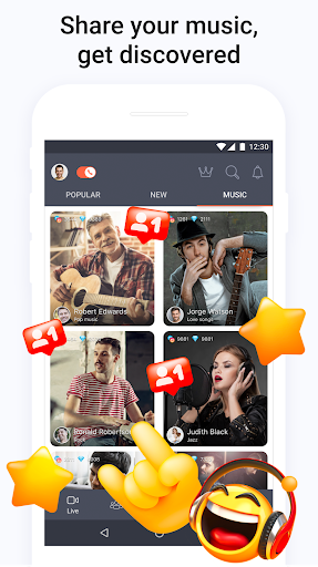 Tango - Live Video Broadcasts and Streaming Chats 6.37.1609341756 Screenshots 7