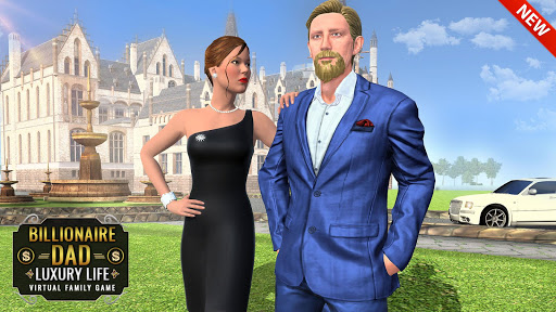 Billionaire Dad Luxury Life Virtual Family Games  screenshots 5
