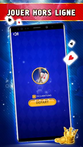Coinche Offline - Single Player Card Game  screenshots 4