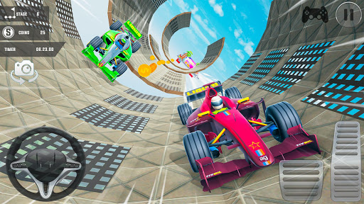 Mega Ramp Car Stunts 3D: Free Ramp Car Games 2021 screenshots 8