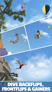 Download Flip Diving MOD APK [Unlimited Money/Coins/Shopping] 2