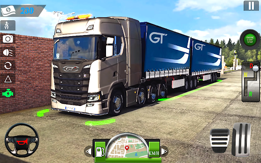 Truck Parking 2020: Free Truck Games 2020 screenshots 1