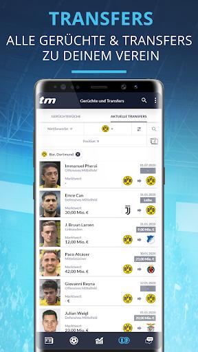 Transfermarkt: Fuu00dfballnews, Bundesliga, Liveticker 2.4.2 Screenshots 4