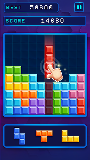 Block Brick Puzzles 10x10 - fun game to play 0.8 screenshots 3