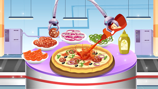 Cake Pizza Factory Tycoon: Kitchen Cooking Game android2mod screenshots 4
