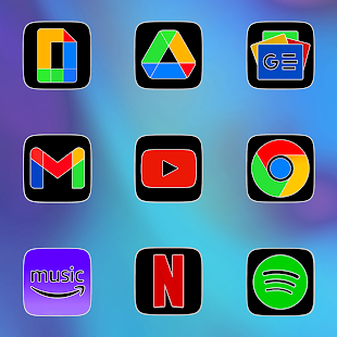 CRiOS Fluo - Icon Pack Screenshot