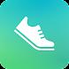万歩計シンプル -簡単に毎日の歩数、歩行距離、消費カロリーを計測する無料の万歩計アプリ- - Androidアプリ