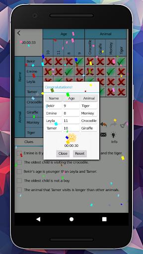 LoGriP (Logic Grid Puzzles) goodtube screenshots 4