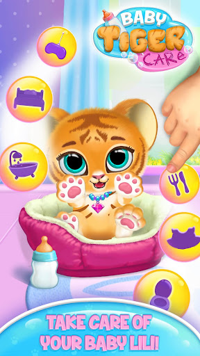 Baby Tiger Care - My Cute Virtual Pet Friend screenshots 1