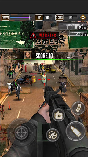 Zombie Shooting King apklade screenshots 2