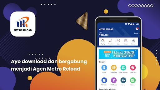Metro Reload - Aplikasi di Google Play