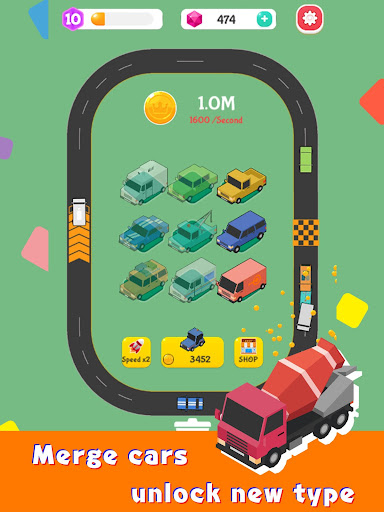 Merge Highway - Merge & Idle Motor Empire  screenshots 8
