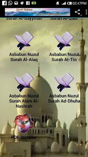 Surah Hafazan & Asbabun Nuzul For PC Windows (7, 8, 10, 10X) & Mac Computer Image Number- 12