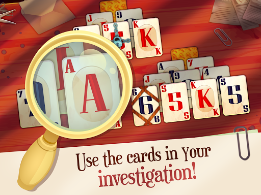 Solitaire Detectives - Crime Solving Card Game 1.3.1 screenshots 7