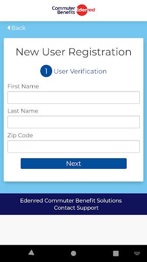 commuter benefits screenshot 2