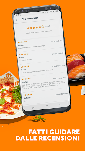 Just Eat Italy - Ordina pranzo e cena a Domicilio apktram screenshots 4