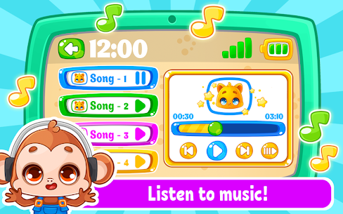 Babyphone & tablet – baby learning games, drawing 2.0.13 Mod + APK + Data UPDATED 3