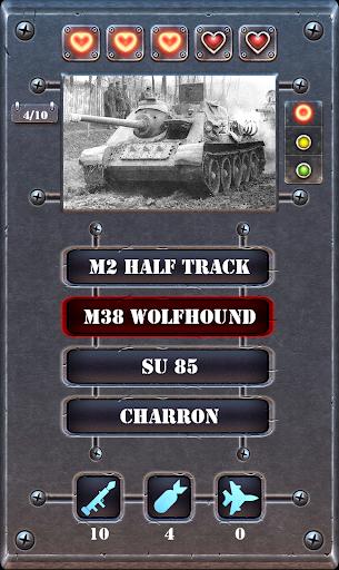 Tank Quiz - Guess the battle tanks 1.0 screenshots 3