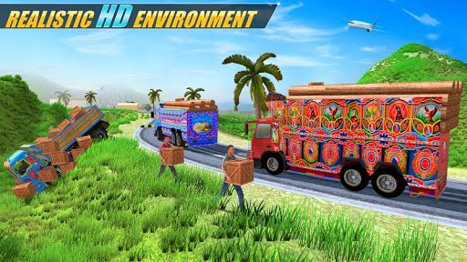 Indian Real Cargo Truck Driver -New Truck Games 21 1.57 screenshots 4