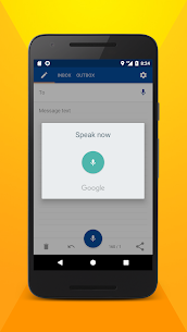 Write SMS by voice 2