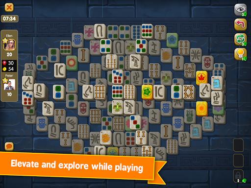 Mahjong Maya Puzzle Live Duels  screenshots 18