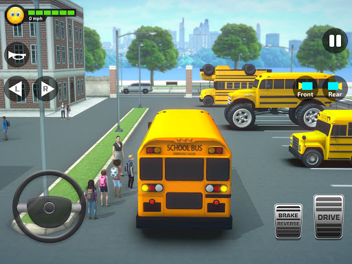 Super High School Bus Simulator und Auto Spiele 3D 2.7 screenshots 17