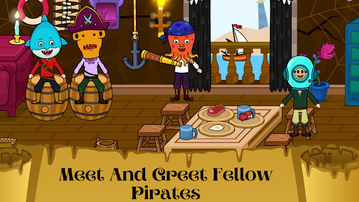 My Pirate Town - Sea Treasure Island Quest Games 1.4 Screenshots 5