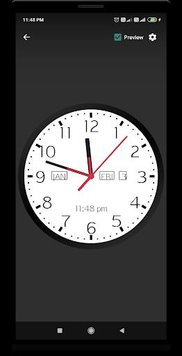 Analog Clock Live Wallpaper 1.16 screenshots 1