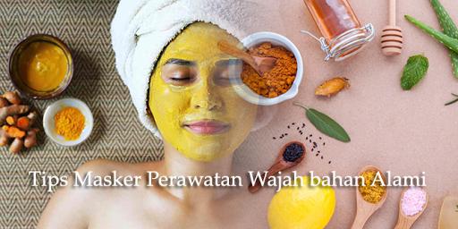 tips masker perawatan wajah bahan alami screenshot 1
