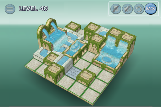Flow Water Fountain 3D Puzzle 1.2 Screenshots 8
