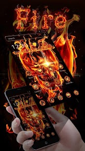 Fire Skull Theme  For Pc (Download On Windows 7/8/10/ And Mac) 2