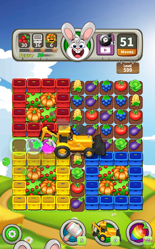 Farm Raid : Cartoon Match 3 Puzzle  screenshots 10