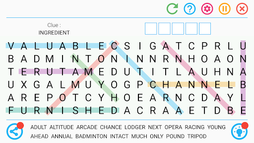 Word Search Free Game 8.4 screenshots 7