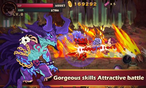 Brave Fighter: Demon Revenge MOD APK 2021 [Unlimited Money & Free Shopping] 3