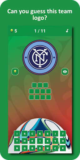 Soccer Logo Quiz 3 1.0.9 screenshots 2