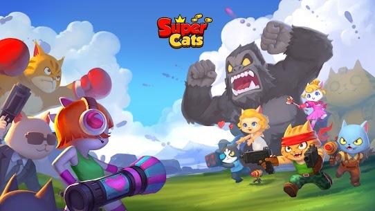 Super Cats MOD APK 1.0.83  (Dumb Enemy) 13