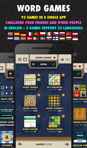 Word Games 94 in 1 - Free  screenshots 1