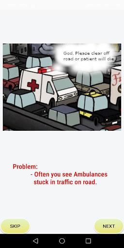 savinglane : lifesaver - give way, save lives screenshot 2