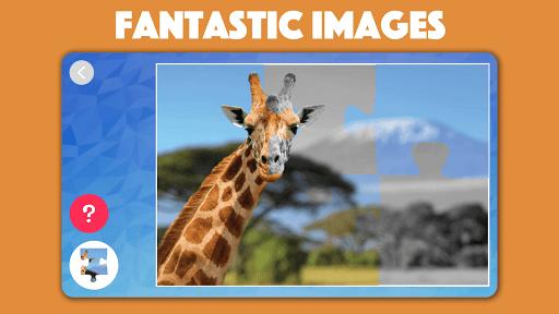 Kids animal jigsaw puzzles 2021.50 screenshots 4