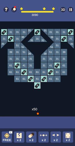Bricks and Balls - Bricks Breaker Crusher android2mod screenshots 4