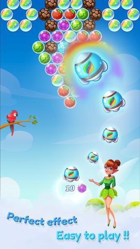 Fruit Bubble 2 - Fairy kingdom apkpoly screenshots 3